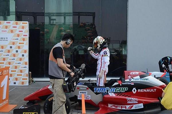 Formula Renault Breaking news AFR Zhuhai: Perdana Minang menang perdana