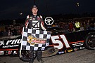 Stock car Kyle Busch rallies late to win his second Snowball Derby