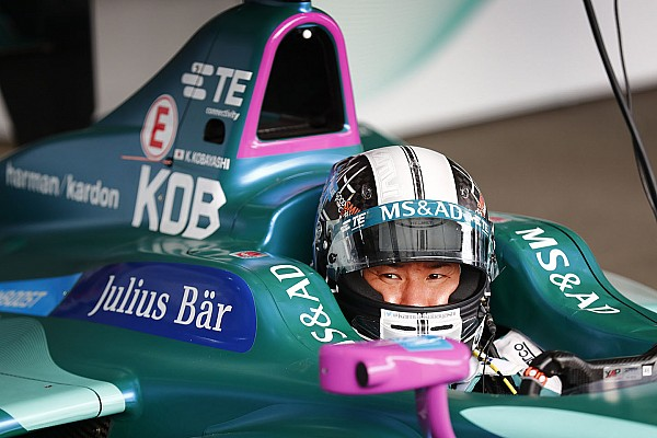 Kobayashi blijft mogelijk bij Andretti voor ePrix Marrakesh