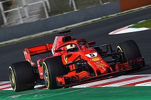 Формула 1 Отчет о тестах Феттель стал быстрейшим в утренней сессии тестов Ф1
