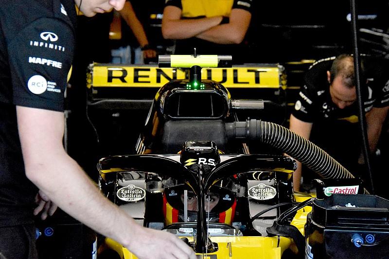 FIA установила GPS на Halo – именно ее испытывала Renault во время тренировок