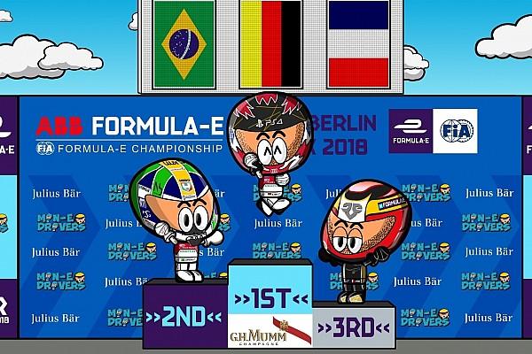 Fórmula E Crónica de Carrera El ePrix de Berlín por los