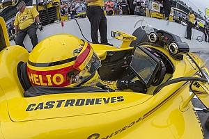IndyCar Crónica de Clasificación La lluvia interrumpe la clasificación para Indy 500