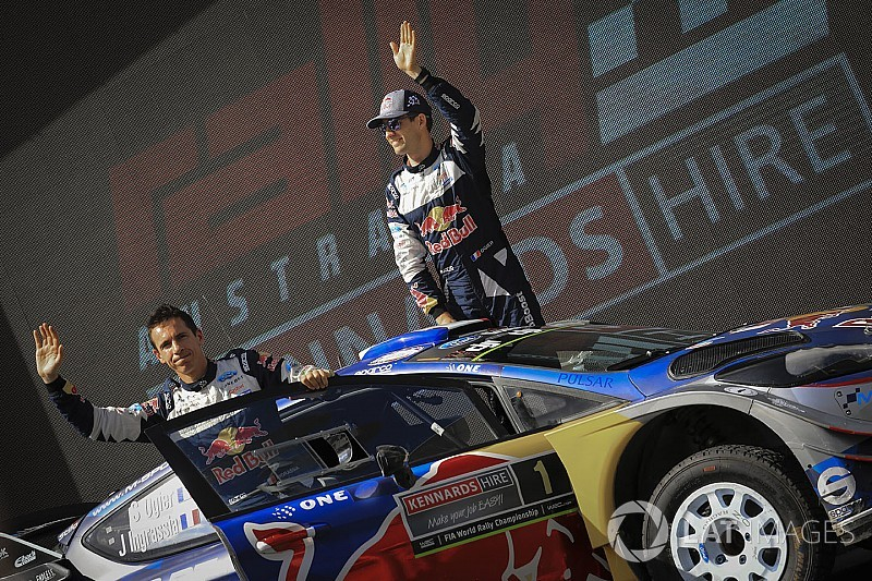 Поддержка Ford убедила Ожье продлить контракт с M-Sport