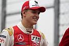 F3 Europe Schumacher nyerte az utolsó (havas) F3-as tesztnapot