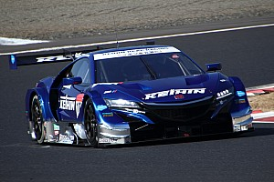 Super GT Testing report Honda scores 1-2 on second Super GT test day