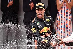 Monaco GP: Ricciardo wins despite engine problem