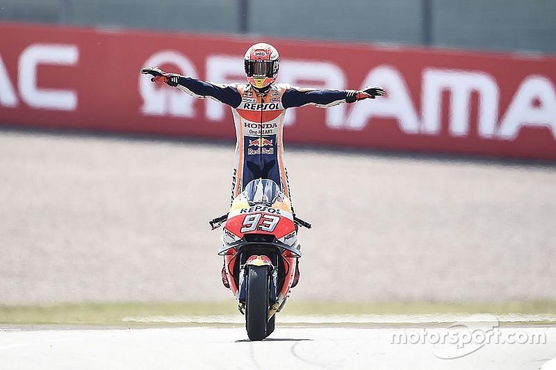 El semáforo del Gran Premio de Alemania de MotoGP