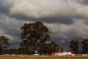 Supercars Qualifying report Winton Supercars: McLaughlin leads all-Penske front row