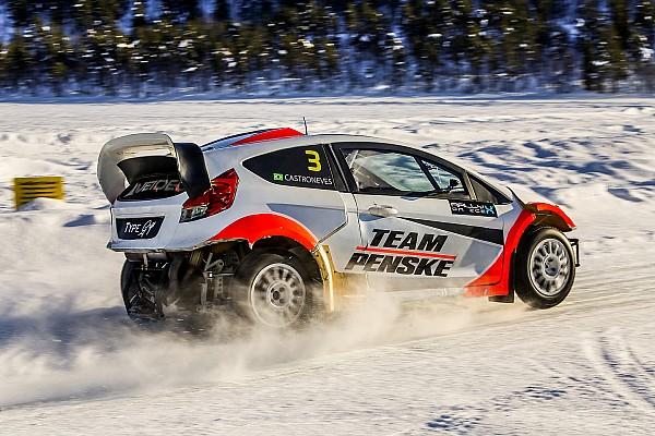 IndyCar-Star Helio Castroneves von RallyX-Ausflug begeistert