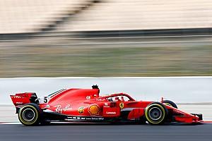 Formule 1 Réactions Vettel salue une Ferrari fiable mais espère une meilleure météo