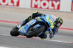 MotoGP Practice report Austin MotoGP: Iannone tops FP2 as Marquez crashes