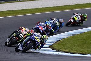 MotoGP Noticias de última hora Valentino Rossi no está contento con la agresividad de algunos pilotos