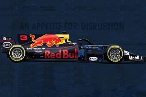 Синяя и с Halo. Наглядное сравнение новой машины Red Bull со старой
