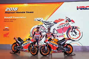 MotoGP Noticias de última hora Honda presenta oficialmente en Yakarta la moto de Márquez y Pedrosa
