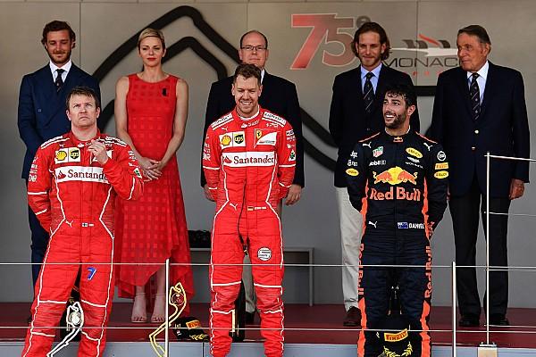 "F1 突发新闻 莱科宁:不能在摩纳哥获胜将让我像去年一样""沮丧"""