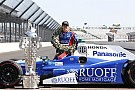"IndyCar インディ500の巨大な優勝トロフィー、初の""海外旅行""。日本へ出発"