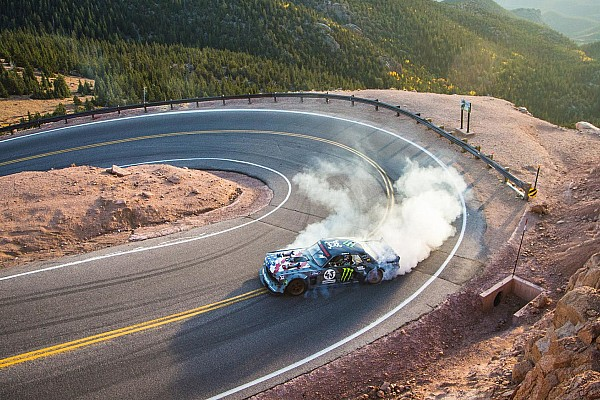 Hillclimb Ken Block takes latest Gymkhana video to Pikes Peak