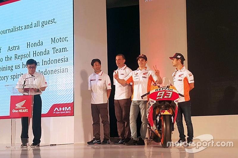 Honda презентовала новый мотоцикл MotoGP