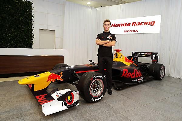 スーパーフォーミュラ 速報ニュース 【SF】ガスリー「F1を目指す僕にスーパーフォーミュラはピッタリ」