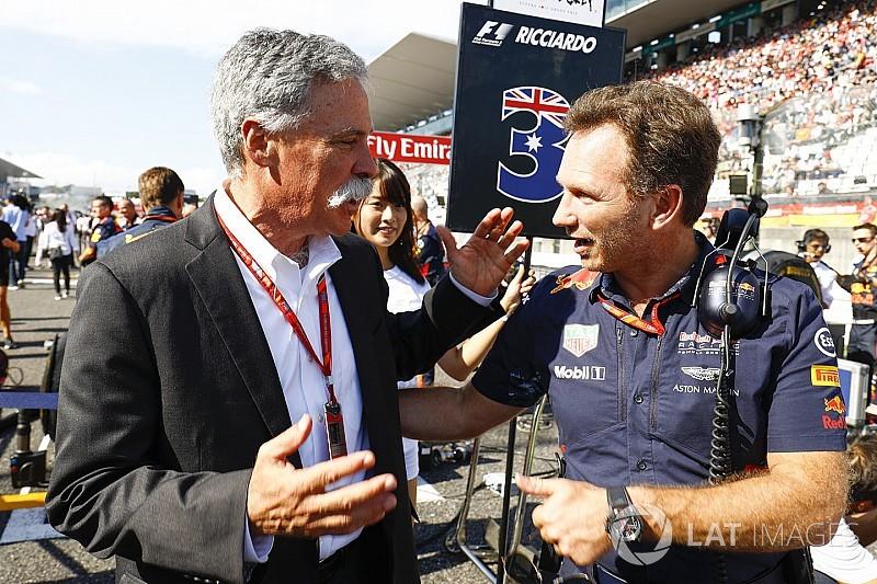 """Red-Bull-Teamchef Horner: """"Die Leute unterschätzen Liberty"""""""