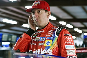 NASCAR Cup Practice report Kyle Busch tops final practice as Larson is forced into a backup car