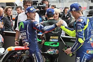 MotoGP Breaking news Insiden kecil antara Vinales dan Rossi saat kualifikasi