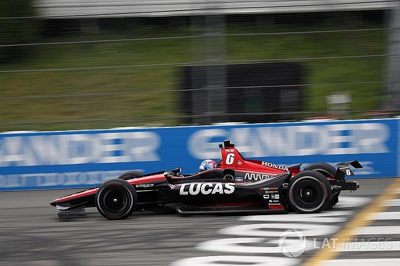 Schmidt Peterson withdraws Wickens' car from Gateway race