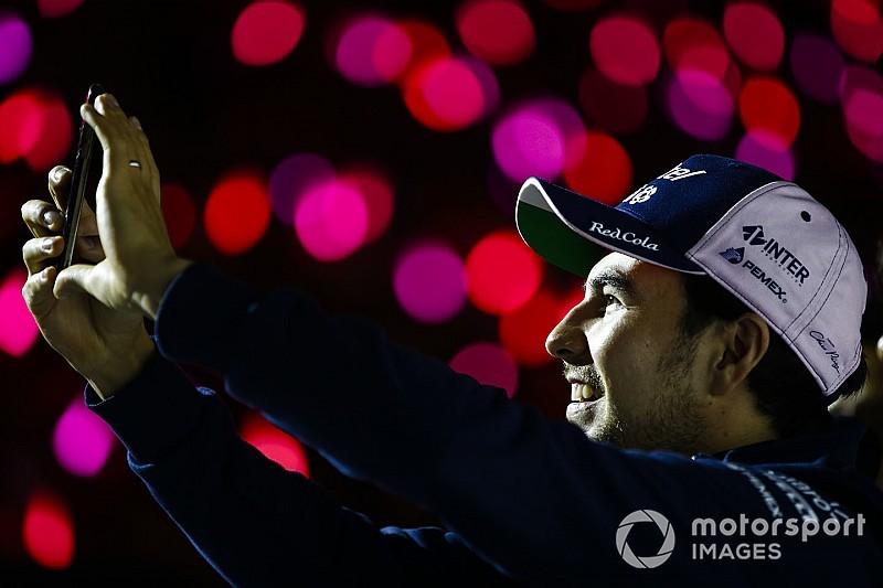 Перес подовжив контракт із Force India