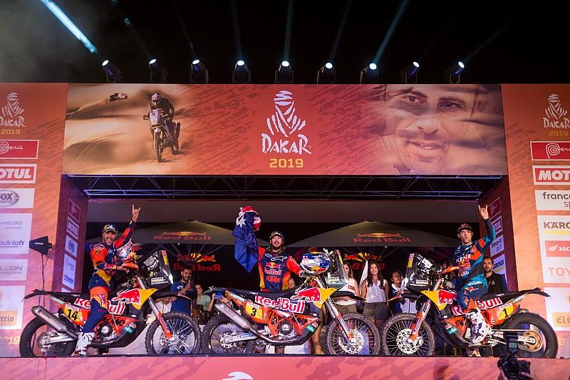 Дакар-2019: топ-10 фінальної класифікації у мотозаліку