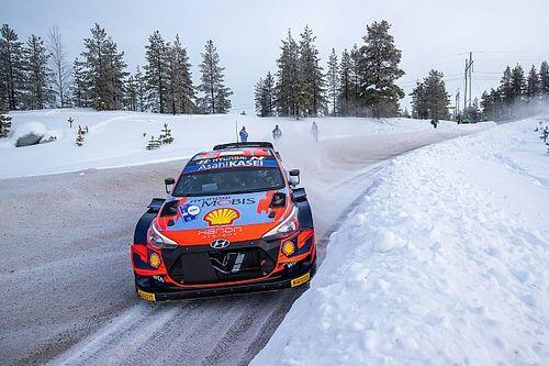 Tanak manda en el Rally del Ártico del WRC