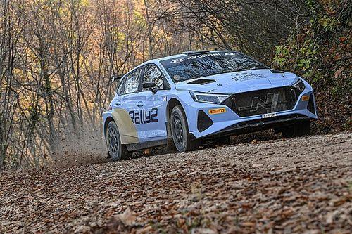 Crugnola fa esordire in Italia la Hyundai i20 N Rally2 in Friuli
