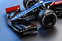 The tweaks hidden inside Alpine's new A521 F1 car