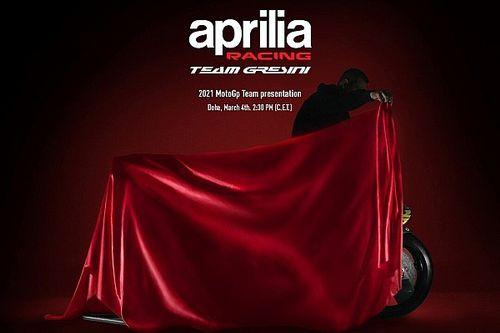 Aprilia RS-GP 2021: lo streaming dalle ore 14:30