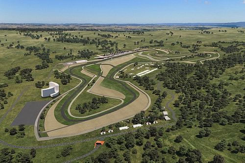Artwork of second Bathurst circuit emerges