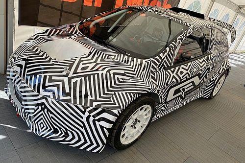 Car for FIA Junior eRX series revealed