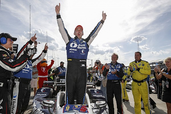 IndyCar Detroit IndyCar: Rahal holds off Newgarden to complete double