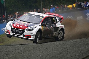 WK Rallycross Nieuws Peugeot en Loeb ook volgend seizoen actief in WRX