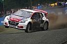 WK Rallycross Peugeot en Loeb ook volgend seizoen actief in WRX