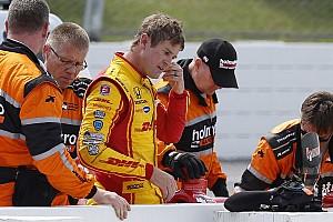 IndyCar 速報ニュース 【インディカー】クラッシュのハンター-レイ、決勝出場は再検査で決定