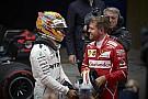 【F1】ハミルトン「ベッテルを他のどんなドライバーより尊敬している」