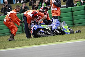 MotoGP Breaking news Vinales says Assen crash the