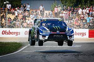 Ралли-Кросс Отчет о гонке Кристофферссон выиграл финальный этап WRX