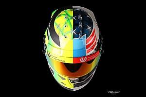 Формула 1 Спеціальна можливість Шолом Міка Шумахера на Гран Прі Бельгії