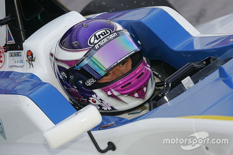 Marino Sato makes F3 step with Motopark