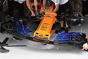 Формула 1 Избранное Гран При Испании: шпионские фото технических новинок. Часть 2