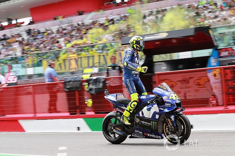 Rossi: Curva 1 é um dos lugares que me dá mais medo