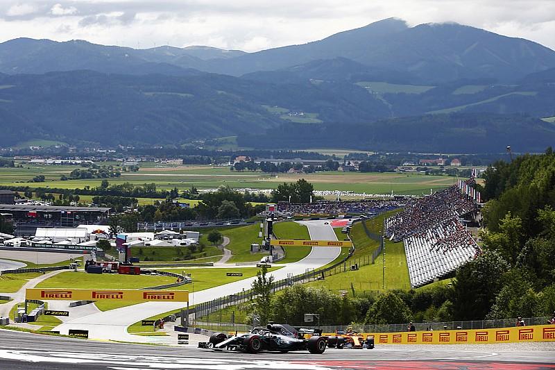 奥地利大奖赛FP1:汉密尔顿力压博塔斯打头阵