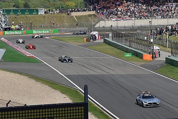 Formule 1 Pourquoi Hamilton ne s'est pas arrêté au stand sous Safety Car