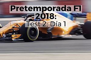 VIDEO: El primer día del segundo test de F1